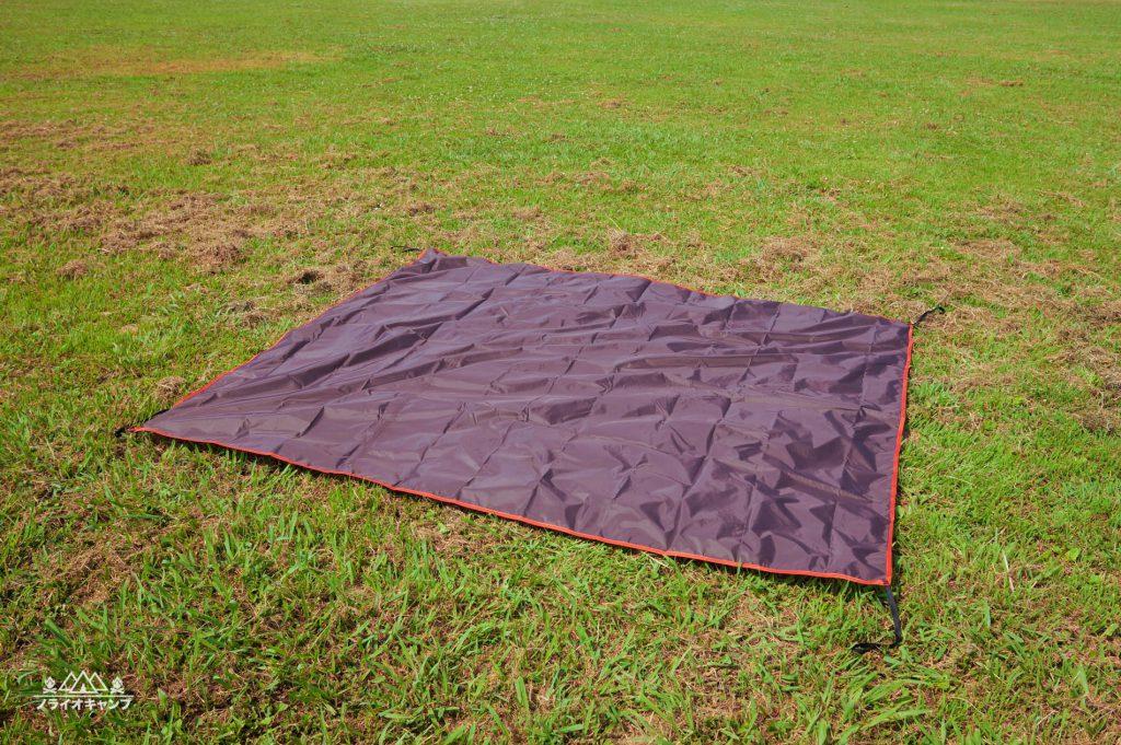 ALPS Mountaineering Meramac 3-Person Tentグラウンドシート